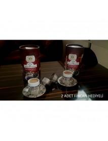 2 Adet 500 Gr Dibek Kahvesi + 2 Adet Fincan